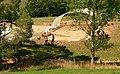 Waldglashütte im Reiherbachtal Grabungsgelände 2013.jpg
