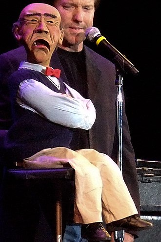 Jeff Dunham - Dunham with Walter, in a shot from a 2007 performance