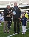 Walter Bahr Joe Biden at Lincoln Financial Field for Philadelphia Union match (cropped).jpg