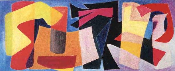 Moderne Malerei Auf Leinwand In Italien Handgefertigt Sole