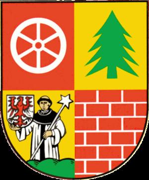 Müncheberg - Image: Wappen Muencheberg Neu