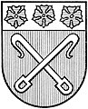 Wappen Stadt Rahden (sw).jpg