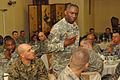 Ward challenges U.S. military mentors to be model professionals for Liberian soldiers - 20100325.jpg