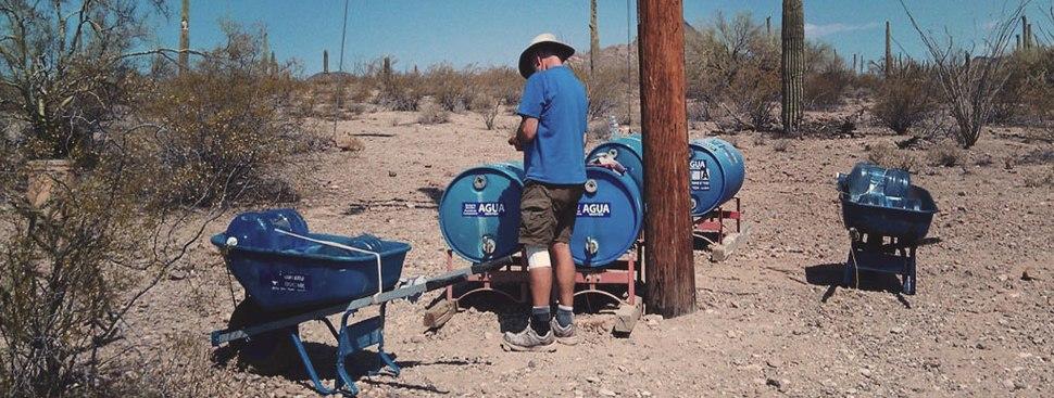 Water Stations at Border