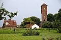 Water tower, Easton Lodge Gardens, Little Easton, Essex walled garden 2.jpg