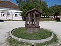 Water well at parking of Medical Center in Biatorbágy, Pest County, Hungary.jpg