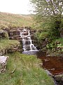 Waterfall on Great Gill. - geograph.org.uk - 610680.jpg
