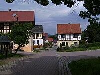 Weischwitz, straatzicht 2008-05-25 14.39.JPG