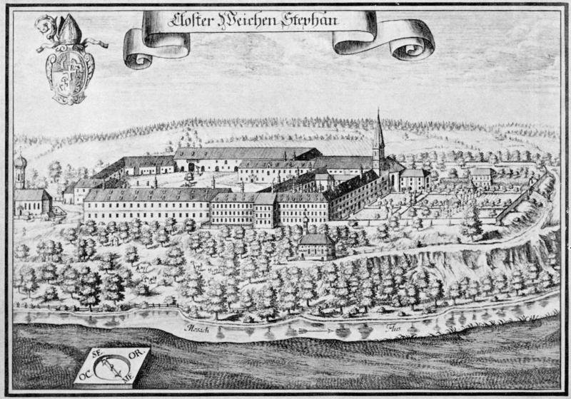 Monastério antes da cervejaria