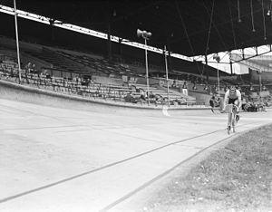 1948 UCI Track Cycling World Championships - Image: Wereldkampioenschapp en baanwielrennen 1948, Juan de Armas