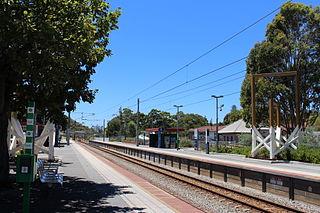 West Leederville railway station railway station in Perth, Western Australia