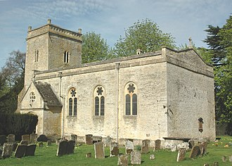 Weston-on-the-Green - Image: Weston Blessed Virgin Mary southeast