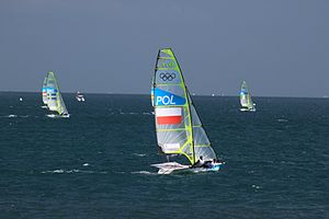 49er (dinghy) - 49er at the 2012 London Olympic Games