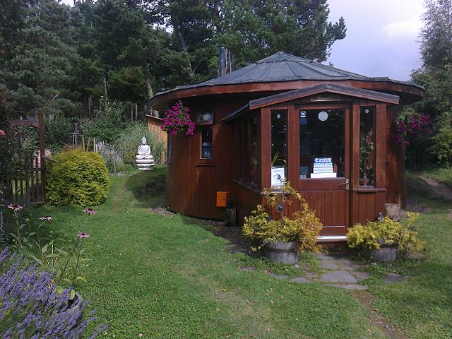 Findhorn eco-house