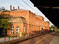 Widok od strony torów- dworca w Brzegu.sienio.JPG
