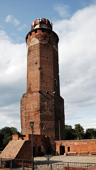 Brodnica - Castle in Brodnica (tower)