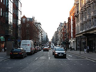 Wigmore Street street in London