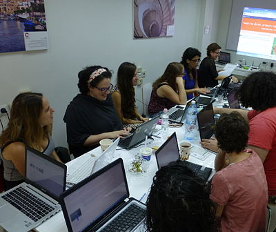 Wiki Women Editors Project - Opening Meeting (9).JPG