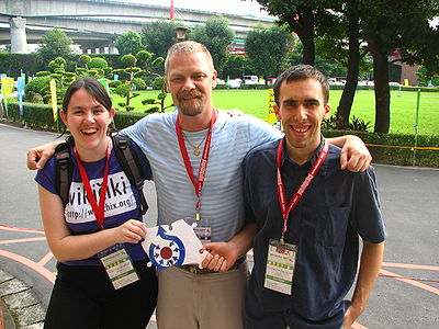 Wikimania 2007 Commons puzzle piece.jpg