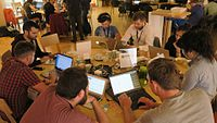 Wikimedia Hackathon 2017 IMG 4692 (34786164335).jpg