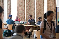 Wikimedia Hackathon Vienna 2017-05-19 Hacking Gurkerl 012.jpg