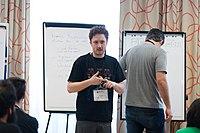 Wikimedia Hackathon Vienna 2017-05-19 Mentoring Program Introduction 038.jpg