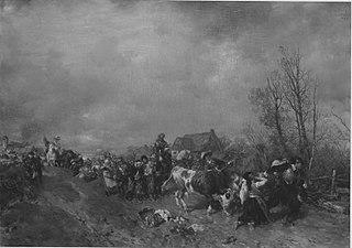 Plünderung im Dreißigjährigen Krieg
