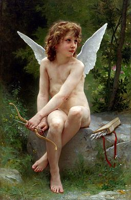 William-Adolphe Bouguereau (1825-1905) - Love on the Look Out (1890)