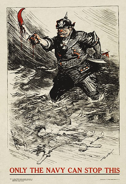 File:William Allen Rogers - Only the Navy Can Stop This (WWI U.S. Navy recruitment poster).jpg