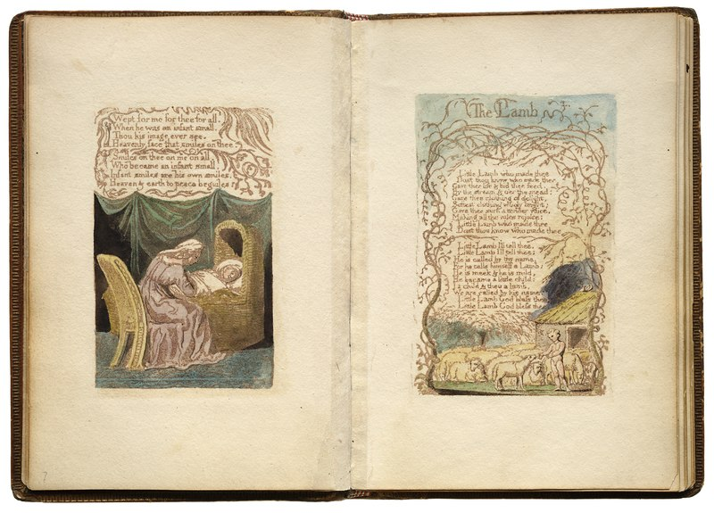 File:William Blake - Songs of Innocence and Experience - The Lamb - Original LoC scan.tiff