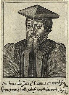 William Fulke English writer
