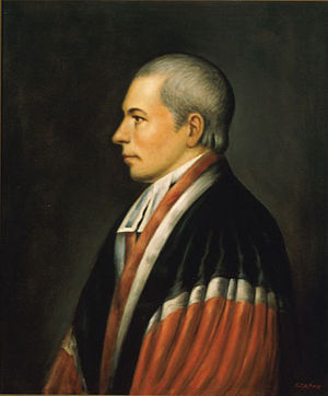 Matthew Lyon - Judge William Paterson (pictured) lamented being unable to give a harsher punishment.