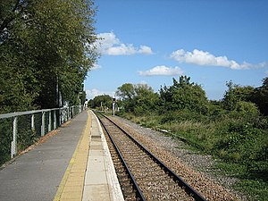 Marshlink line - Since the Marshlink line was single-tracked in 1979, Winchelsea railway station has only used one platform