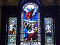 Window behind altar in Holy Trinity Cathedral, Quebec.JPG