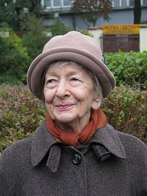 Wislawa Szymborska (b. July 2, 1923 in Bnin, P...