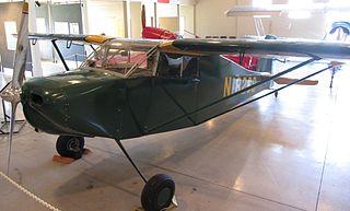 Wittman Buttercup homebuilt aircraft