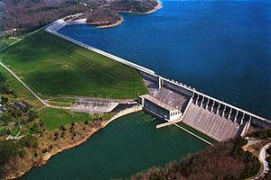 Wolf Creek Dam - Image: Wolf Creek Dam