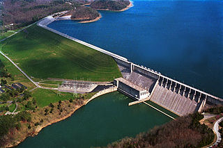 dam in Russell County, Kentucky