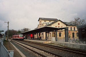 Brunswick–Bad Harzburg railway - Wolfenbuettel station