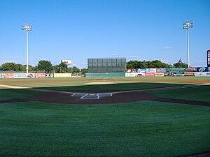 Nelson W. Wolff Municipal Stadium - Image: Wolff stadium field