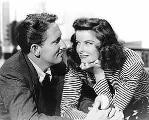 Woman of the Year - Katharine Hepburn and Spencer Tracy in Woman of the Year