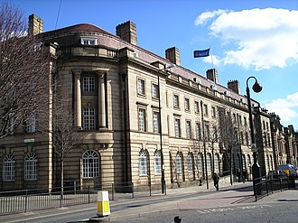Police station - Image: Wood Street Police Station, Wakefield