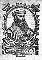 Woodcut; portrait of Thomas Gale Wellcome M0002594.jpg