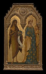 Saints John the Baptist and Catherine of Alexandria