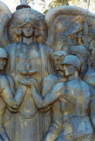 Rene Paul Chambellan - Image: World War II Monument RPC
