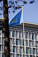 World Health Organization Headquarters and Flag.jpg