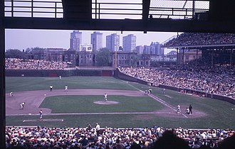 1970 Chicago Cubs season - Cubs vs. Reds at Wrigley Field, May 1970