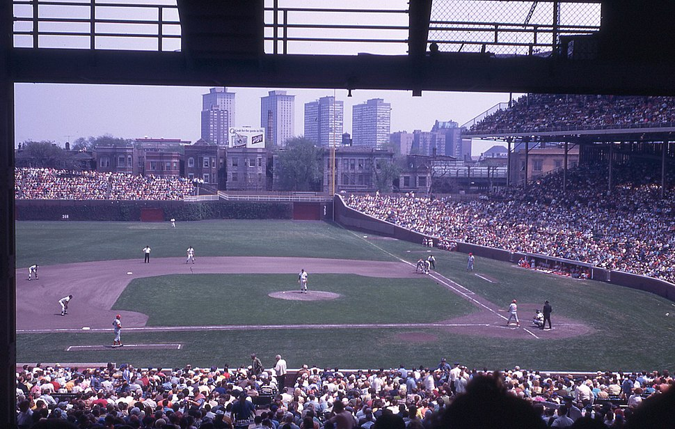 Wrigley Field - Cubs vs. Reds 1970