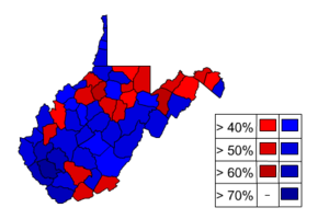 West Virginia Democratic Primary Election Results