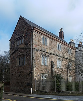 Chantry - William Wyggeston's chantry house, built around 1511, in Leicester: the building housed two priests, who served at a chantry chapel in the nearby St Mary de Castro church. It was sold as a private dwelling after the dissolution of the chantries.